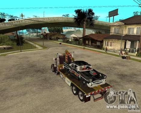 Kenworth W900 SALVAGE TRUCK pour GTA San Andreas laissé vue