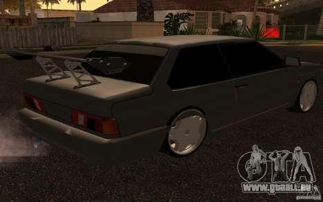 VAZ 2115 coupé pour GTA San Andreas vue de droite