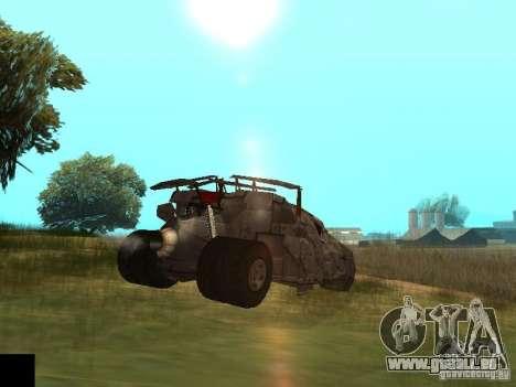 Batman Car pour GTA San Andreas vue arrière