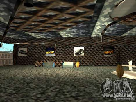 Neuer Lamborghini Showroom in San Fierro für GTA San Andreas siebten Screenshot