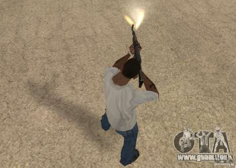AK-47 pour GTA San Andreas cinquième écran