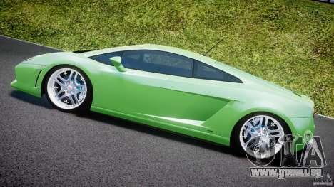 Lamborghini Gallardo LP 560-4 DUB Style pour GTA 4 est un côté