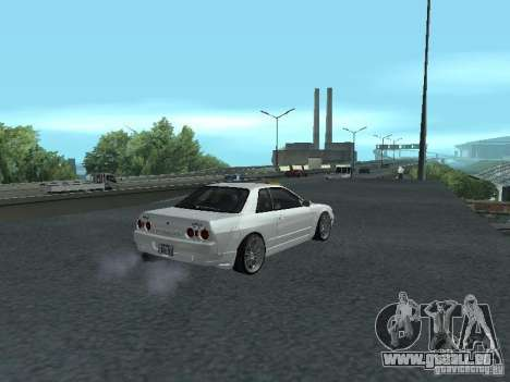 Nissan Skyline R32 Zenki für GTA San Andreas Rückansicht