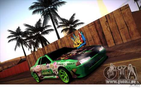 Elegy Toy Sport v2.0 Shikov Version pour GTA San Andreas vue intérieure