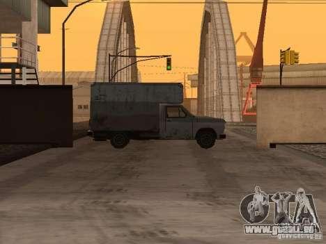 Die wiederbelebten Militärbasis in Docks v3. 0 für GTA San Andreas zweiten Screenshot