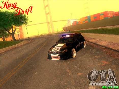 Subaru Impreza WRX Police für GTA San Andreas