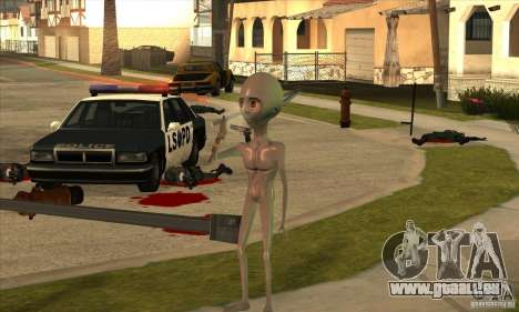 Alien für GTA San Andreas sechsten Screenshot