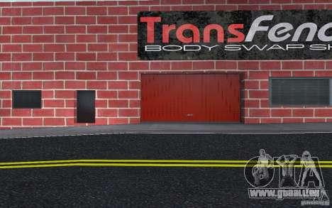 Neue Autohändler Wang Cars für GTA San Andreas achten Screenshot