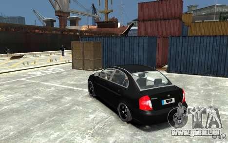 Hyundai Accent 2006 für GTA 4 hinten links Ansicht