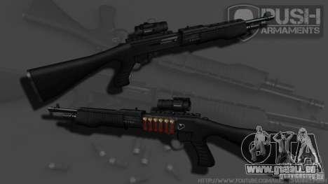 SPAS-12 Tactical für GTA 4 dritte Screenshot