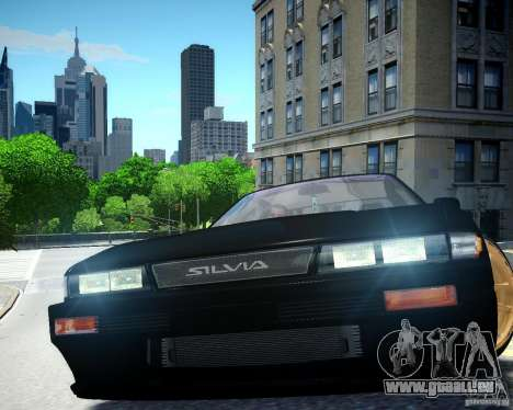 Nissan Silvia S13 für GTA 4 Innenansicht