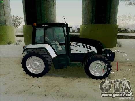 Steyr CVT 170 pour GTA San Andreas laissé vue