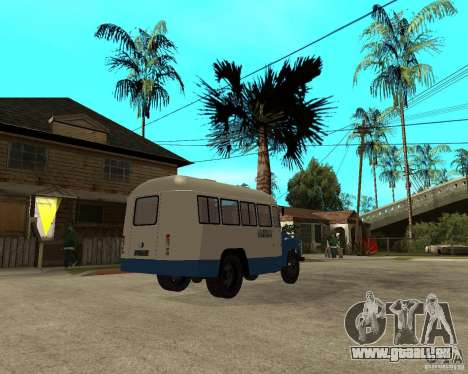 KAVZ-685 für GTA San Andreas rechten Ansicht