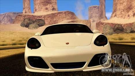 Porsche Cayman R 987 2011 V1.0 pour GTA San Andreas vue de côté