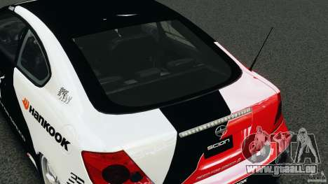 Scion TC Fredric Aasbo Team NFS für GTA 4 Seitenansicht