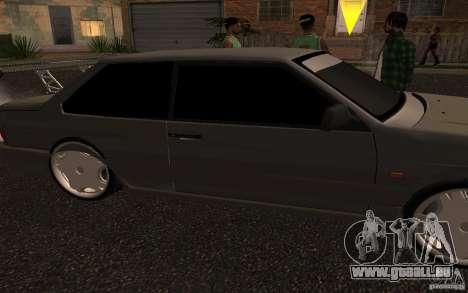 VAZ 2115 coupé pour GTA San Andreas sur la vue arrière gauche