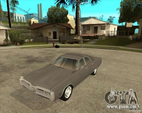 1972 Plymouth Fury III Stock für GTA San Andreas