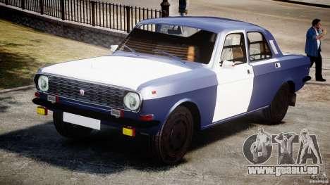 Volga gaz-2410 1989 v2.1 pour GTA 4