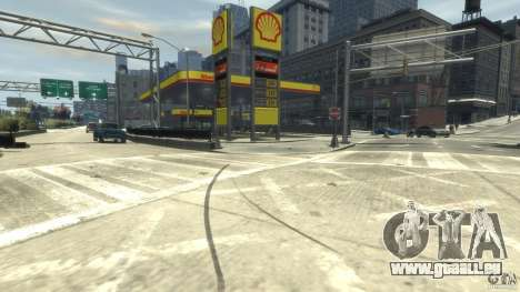 Shell Petrol Station für GTA 4 Sekunden Bildschirm