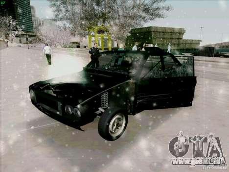 Dacia 1310 Sport pour GTA San Andreas vue de dessus