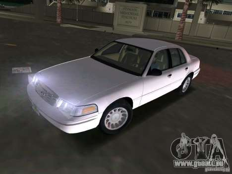 Ford Crown Victoria pour GTA Vice City