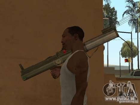 LAW Rocket launcher für GTA San Andreas her Screenshot