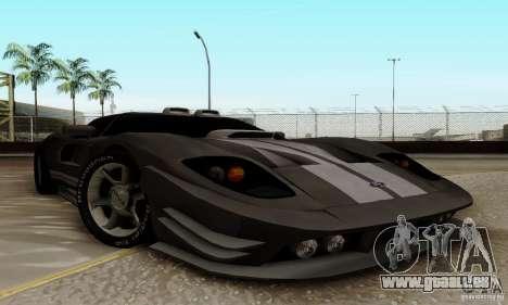 Ford GT Tuning pour GTA San Andreas laissé vue