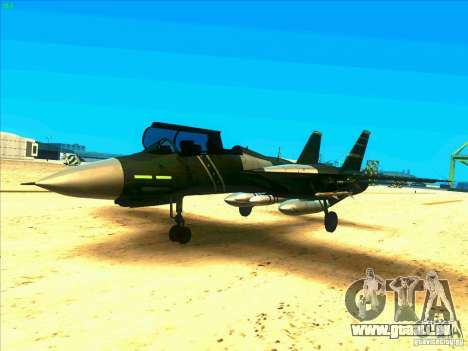 F-14 Tomcat Schnee für GTA San Andreas