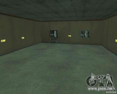 Base du DRAGON pour GTA San Andreas cinquième écran