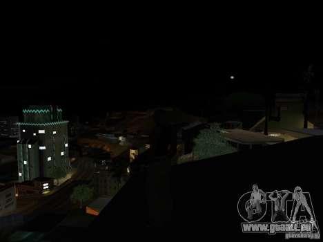 Realistic Night Mod pour GTA San Andreas troisième écran