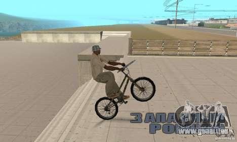 Trial bike pour GTA San Andreas vue de droite