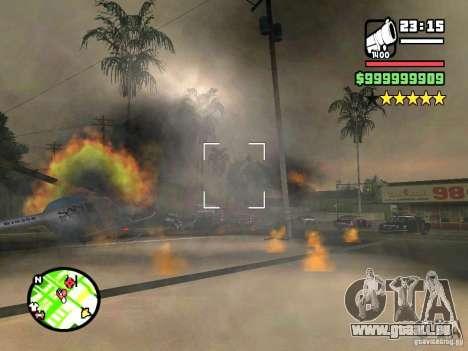 Un arrêt réel pour GTA San Andreas troisième écran