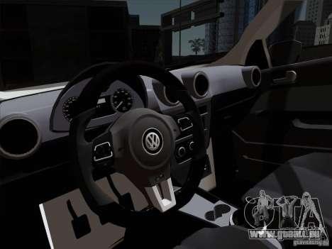 Volkswagen Golf G6 v3 für GTA San Andreas Rückansicht