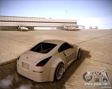 Nissan 350Z AdHoc pour GTA San Andreas laissé vue