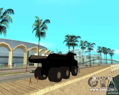 Dumper für GTA San Andreas zurück linke Ansicht