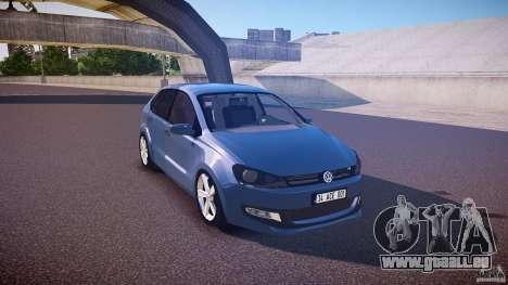Volkswagen Polo 2011 pour GTA 4 est une vue de l'intérieur