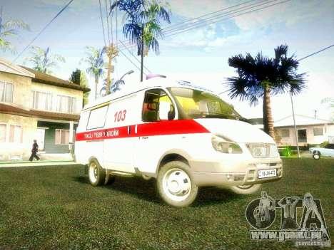 Gazelle 2705 BAKU AMBULANS für GTA San Andreas
