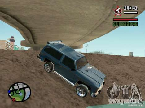 ENBSeries für GForce FX 5200 für GTA San Andreas her Screenshot
