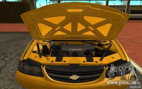 Chevrolet Impala Taxi 2003 pour GTA San Andreas vue de droite