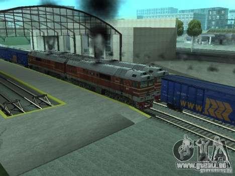 2TÈ121-023 pour GTA San Andreas vue arrière