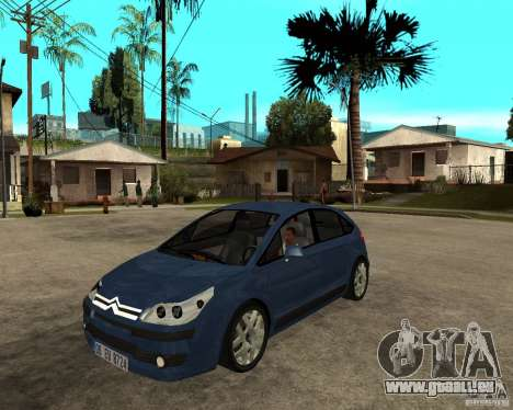 Citroen C4 SX 1.6 HDi für GTA San Andreas
