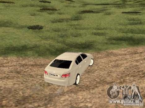 Lexus GS-350 für GTA San Andreas rechten Ansicht