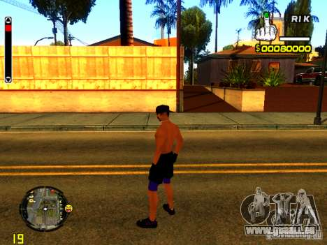 Gens de la plage pour GTA San Andreas troisième écran