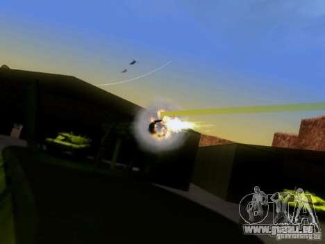 Suv Call Of Duty Modern Warfare 3 für GTA San Andreas linke Ansicht