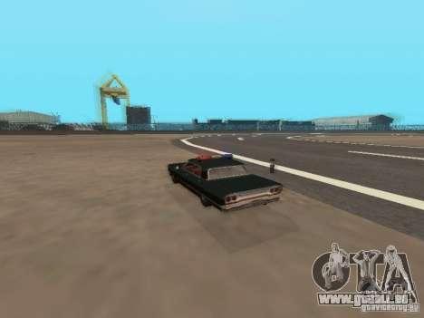 Police Savanna pour GTA San Andreas vue arrière