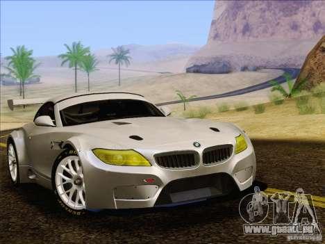 BMW Z4 E89 GT3 2010 Final für GTA San Andreas zurück linke Ansicht