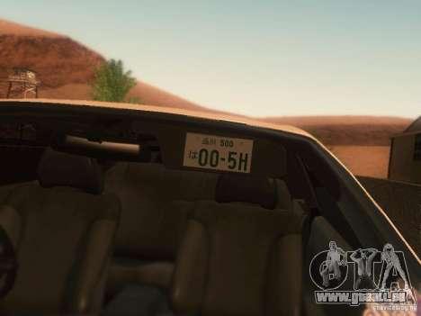 Nissan Skyline GTS R32 JDM pour GTA San Andreas vue de droite
