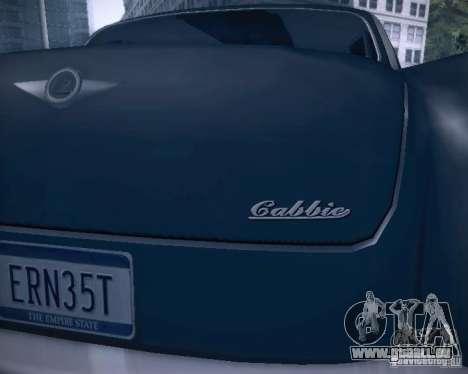 Diablo Cabbie HD pour GTA San Andreas roue
