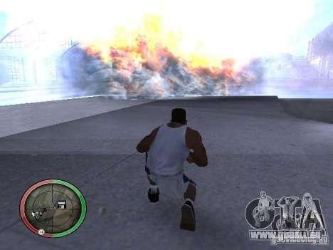 Dynamite MOD pour GTA San Andreas quatrième écran
