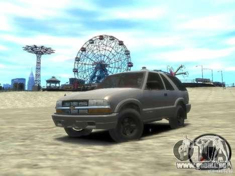 Chevrolet Blazer LS 2dr 4x4 pour GTA 4